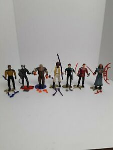 Star-Trek-1995-Playmates-Par-Pic-Bundle-Of-7-figures