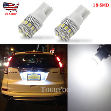 x Super Bright 168 194 White 18pcs SMD LED Bulbs For License Plate Lights US