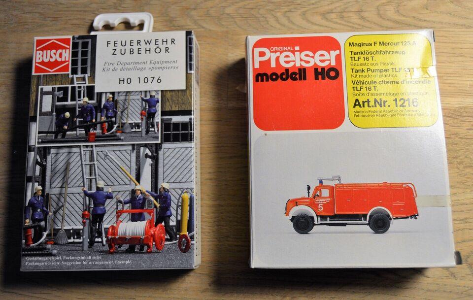 Modeltog, Noch - Prieser Figurer - fittings , skala 1/87