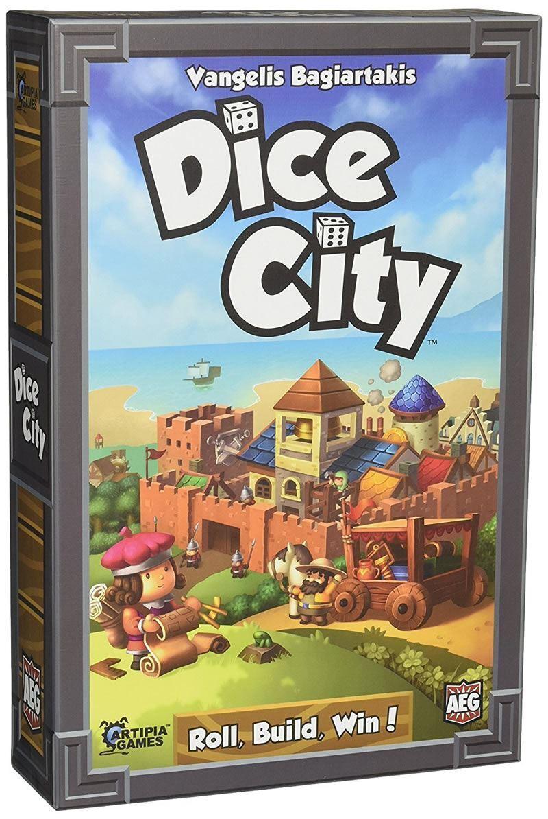 ALDERAC ENTERTAINMENT DICE CITY BOARD GAME