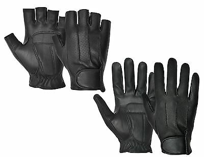 NEW REAL SHEEP NAPPA LEATHER DRIVING GLOVES MEN DRESS CHAUFFEUR CLASSIC VINTAGE