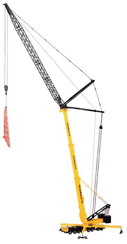 Kibri 13033 LIEBHERR poids lourds-Télescope grue mobile avec wippspitze, Piste h0