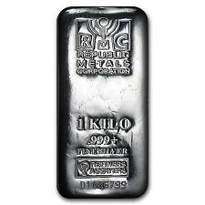 1 kilo Silver Bar - Republic Metals Corporation (RMC) - SKU #89402