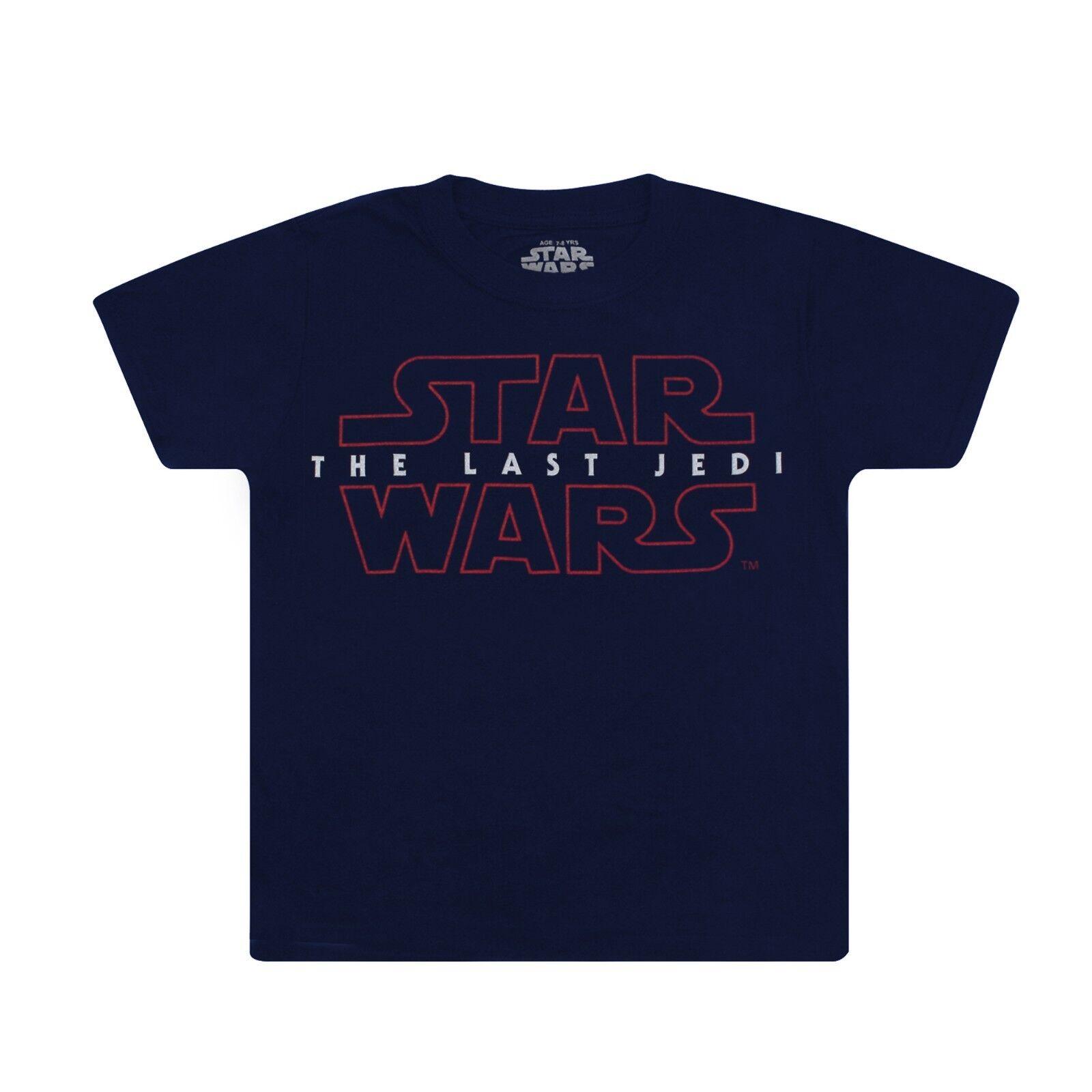 Star Wars The Last Jedi Logo Black Baseball 34 Sleeve Tee