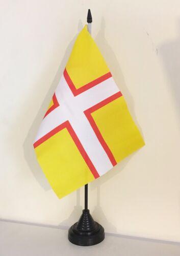 "TABLE FLAG 9/"" X 6/"" 22.5cm x 15cm flags NEW DESIGN DORSET"