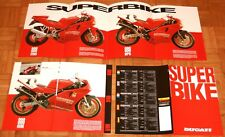 Ducati 888 Racing, SP5 , Strada  Prospekt  8 Seiten  Brochure