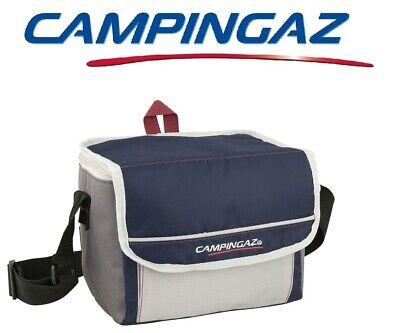 Discreto Borsa Termica Fold' N Cool 5 Litri Dark Blue Campingaz - Prestazione 6 Ore Per Farti Sentire A Tuo Agio Ed Energico