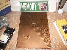 ORIGINAL 1940 BOARDMAN HIGH SCHOOL YEARBOOK/ANNUAL/JOURNAL/BOARDMAN, OHIO