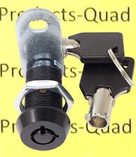 1 18 Black Tubular Cam Lock Camper Drawer Toolbox Removable Key Non Retaining