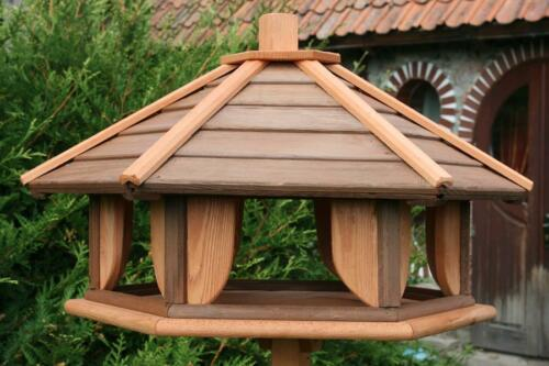 VOGELHAUS aus HOLZ Vogelhäuschen Vogelhäuser Vogelfutterhaus L !!!