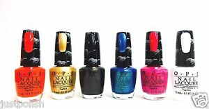 Image Is Loading OPI Nail Polish Ford Mustang Collection Colors Of