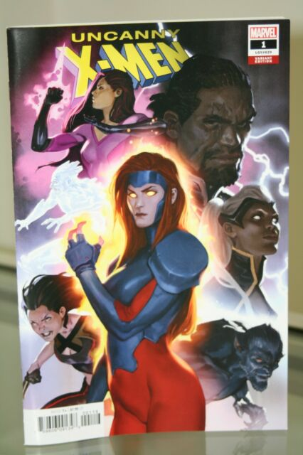 MARVEL COMICS UNCANNY X-MEN #1 MARKO DJURDJEVIC VARIANT COVER