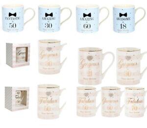 Happy-Birthday-Fine-China-Mug-Diamante-Heart-Age-Milestone-Present-Gift-Boxed