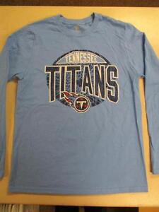 New-Tiny-Orificio-Tennessee-Titans-Youth-Talla-14-16-LARGA-Grande-NFL-Camisa