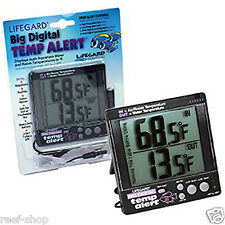 Lifegard Aquatics Big Temp-Alert Digital Aquarium Thermometer FREE USA SHIPPING!