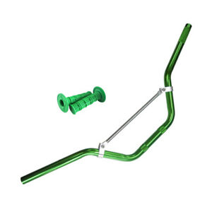 7-8-034-Handlebars-Handle-Bars-Hand-Grips-Fit-ATV-Pit-Dirt-Bike-Motorcycle-Green
