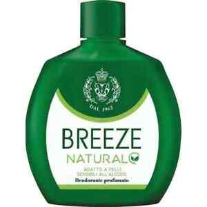 Breeze Naturel Déodorant Spray Squeeze Ml. 100 Expédition Suivie