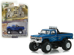 1974-Ford-F-250-Monster-Truck-Kings-of-Crunch-Series-3-Greenlight-1-64-49030A