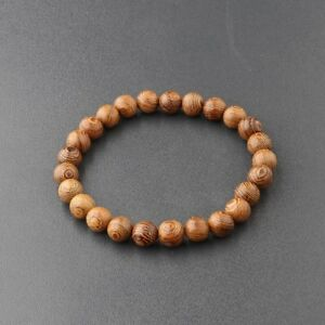 008c488465ee3 Details about 8MM Men Women Multilayer Wooden Beaded Bracelets Stretch  Couples Bangle Jewelry