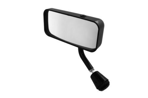 main gauche noir Lifeline MSA Miroir de voiture de formule plat lentille