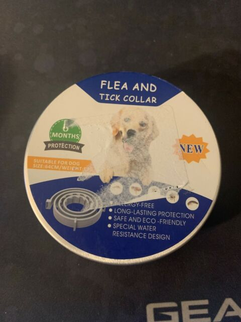 12 Months Flea and Tick Prevention Dog Flea and Tick Treatment TUZIK Flea Collar for Dogs Durable and Waterproof Flea and Tick Collar 2020 Upgrade Version Stable