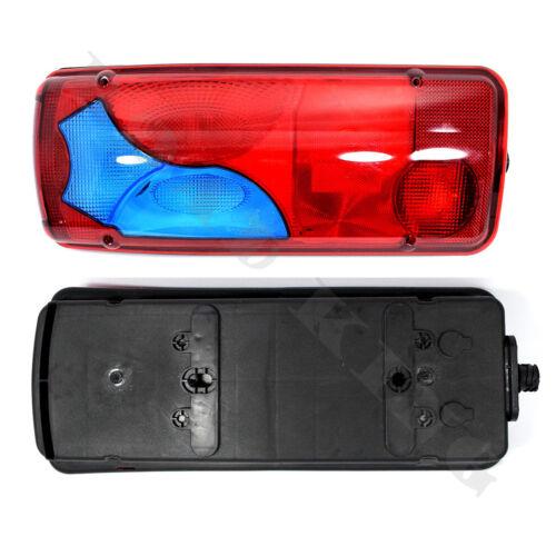 Paar 2 x Rückleuchte Heckleuchte Rücklicht Blau für MAN TGA TGL TGM TGX ab 2005