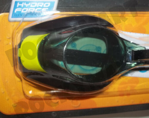 Hydro Force Pro Racer Adjustable Goggles Multiple Colors Child Swim Pool RM1509