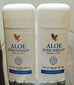 2 Forever Living Aloe Vera Ever Shield Deodorant Stick