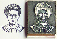 Marie Curie Rubber Stamp By Amazing Arts