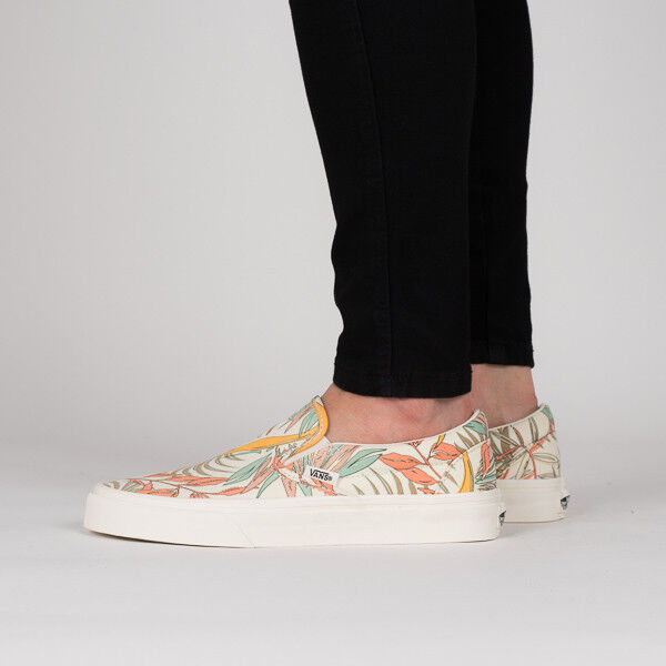 2b0181c87e VANS Classic Slip-on California Floral Marsh Shoes Women s Size 6 for sale  online
