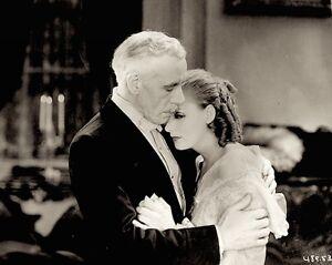 Greta-Garbo-Lewis-Stone-Press-Photo-1930-Romance-Promo-Proof-Date-Stamped-VTG