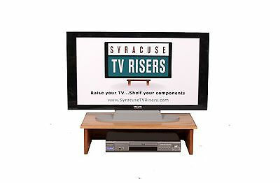 SYRACUSE4-TIER BLACK TV RISER FOR THE ULTIMATE EXPERIENCE IN TV VIEWING