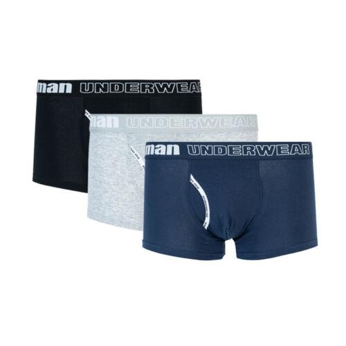 4//3//2 Pack Waist Logo Man Underwear Stretch Men/'s Plus Boxer Briefs Trunks L-3XL
