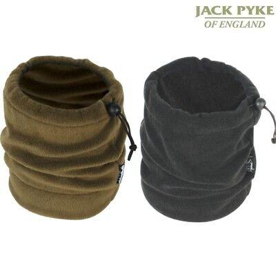 JACK PYKE FLEECE NECK GAITER warm soft tube hat snood scarf black or olive green