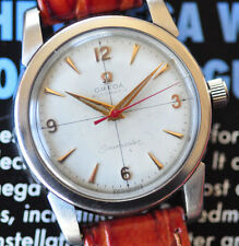 Vintage All Original Cross Hairs Omega Seamaster Watch C. 471 Automatic Serviced