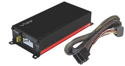 Harness Plug /& Play VW Vibe PowerBox 65.4M V7 260W RMS Class D 4 Ch Amp