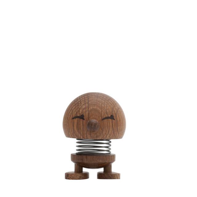 Hoptimist Woody Baby Bimble Figur   Eiche geräuchert ø 5 cm, h 6,5 cm