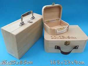 Wooden-SUIT-CASE-Small-Or-Large-Plus-Other-CRAFT-Wooden-Items-to-decorate