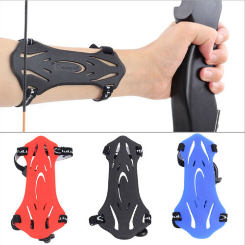 Rubber Straps Arm Guard Protector Target Adult Sports Outdoor Archery Practical
