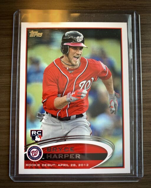 Bryce Harper 2012 Topps Update #US183 Washington Nationals RC Phillies Rookie