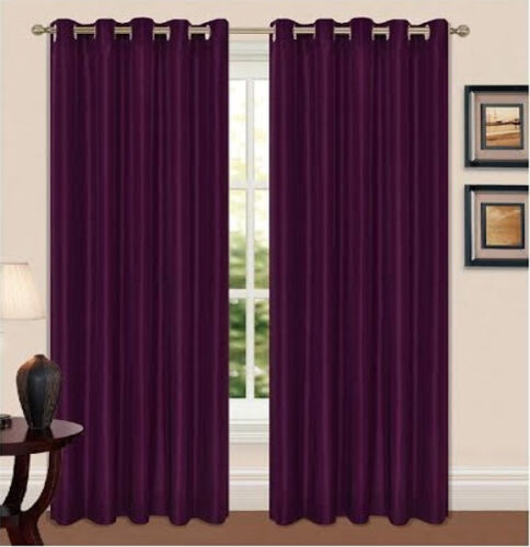 Thermal Blackout Curtain 66x72 90 x 90 66x54 66x90 Ready Made Luxury Pair Eyelet