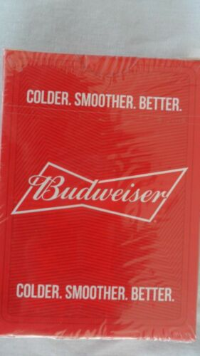BUDWEISER DECK OF PLAYING CARDS  THIS BUDS FOR YOU FACTORY SEALED NEW