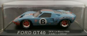 1-43-FORD-GT40-GT-40-24H-LE-MANS-1969-J-ICKX-OLIVER-IXO-ALTAYA-ESCALA