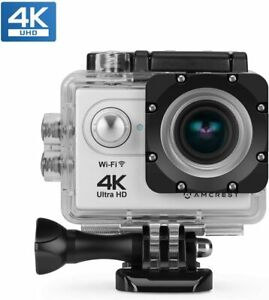 Amcrest GO 4K Action Camera 60fps, Elite 16MP@60fps Underwater Waterproof