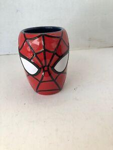 NEW-Marvel-Universal-Studios-Spiderman-3D-Head-Ceramic-Molded-Coffee-Tea-Mug