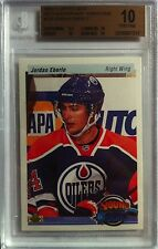(HCW) 2010-11 Upper Deck Retro JORDAN EBERLE BGS 10 Young Guns RC 9.5 10 10 10