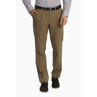 NEW Reserve Pleat Front Chino Pant Tan