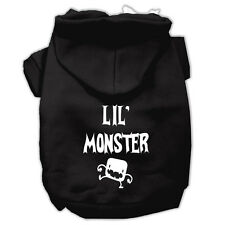 DOG SWEATSHIRT chihuahua teacup yorkie LITTLE MONSTER DOG HOODIE JUMPER US MADE