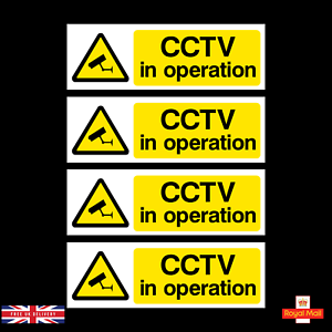 x4-CCTV-Security-Camera-Warning-Sticker-150x50mm-Self-Adhesive-Stickers