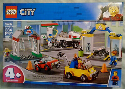 LEGO® City Brick New Toy Garage Center 60232